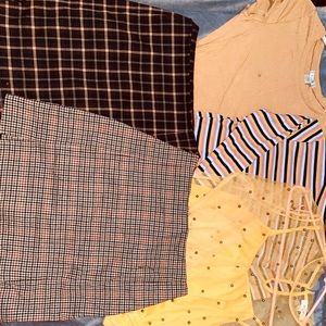 Yellow and Plaid Collection